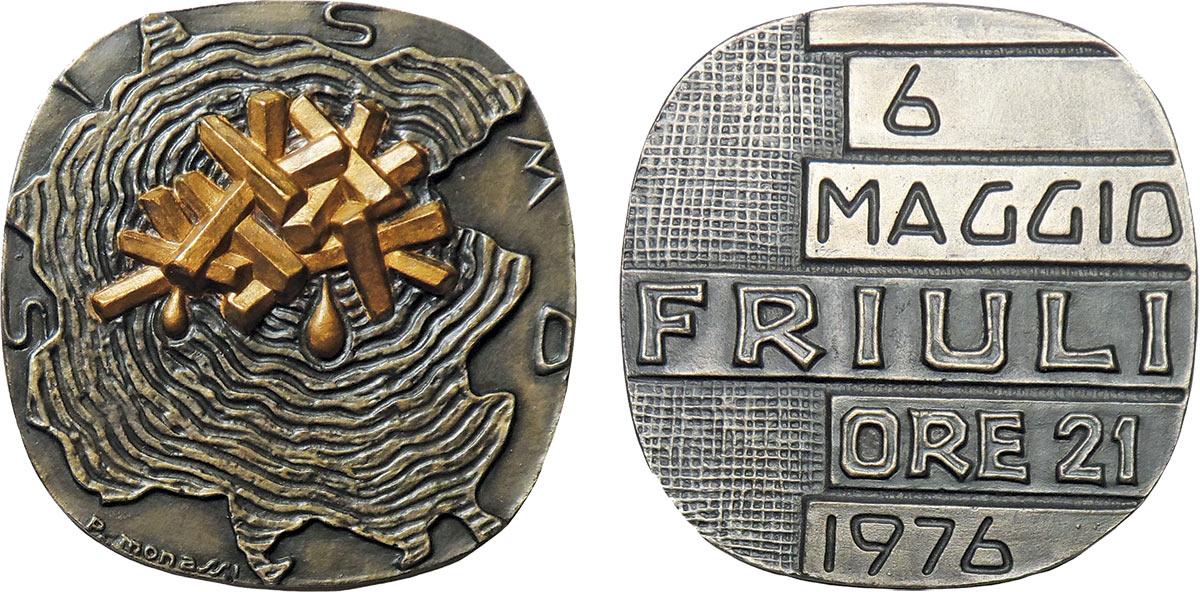medaglia Monassi Friuli