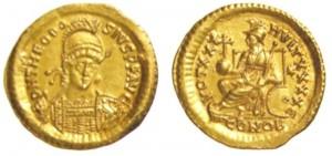 Solido di Teodosio II
