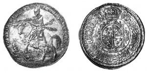 Svezia, Gustavo-Adolfo (1611-1632) - 4 Riksdaler 1632
