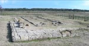 Tempio dedicato ad Apollo Aleo in Calabria