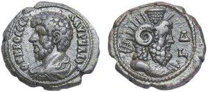 Teradrammo BI -13 -51 g- di Lucio Vero - Alessandria - Serapis Pantheos -da www.tifcollection.com-