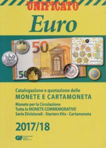 Euro. Catalogazione e quotazione delle monete e cartamoneta, 2017/2018.