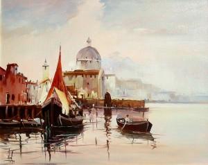 Venezia, quadro di Ricardo Massucatto