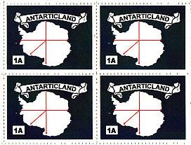 Francobolli di Antarticland.