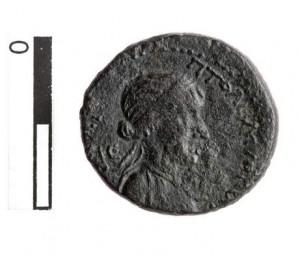 moneta Cleopatra e Marco Antonio