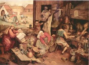 Pieter Breughel - Alchimista
