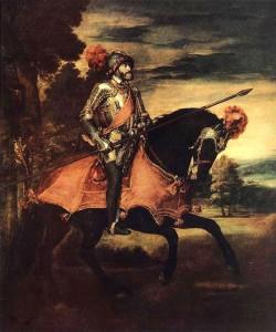 Carlo V a cavallo - Tiziano