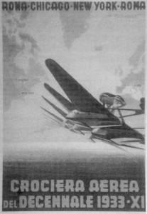 Cartolina crociera aerea del decennale 1933 - XI