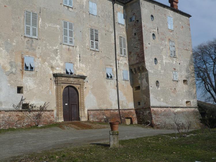Il castello degli Spinola a Tassarolo.