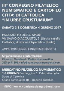 In urbe Crustumium. III Convegno Filatelico, Numismatico e Cartofilo Città di Cattolica.