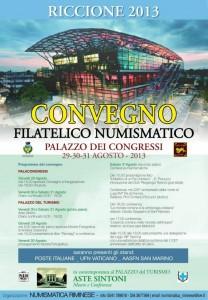 Convegno Filatelico Numismatico Riccione 2013