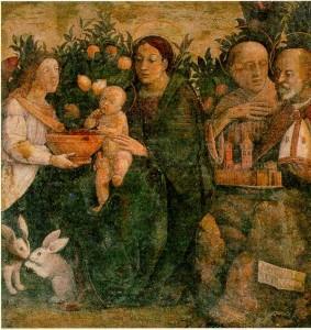 Antonio Allegri detto il Correggio, Madonna col Bambino