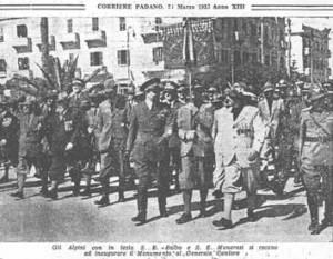 foto tratta dal CORRIERE PADANO del 26 marzo 1935