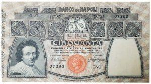 cartamoneta banco di Napoli 1893