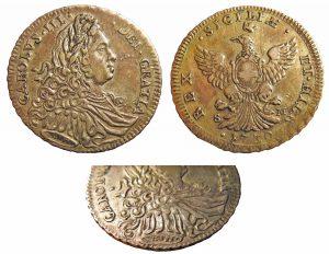 Carlo IV, 4 tarì 1730