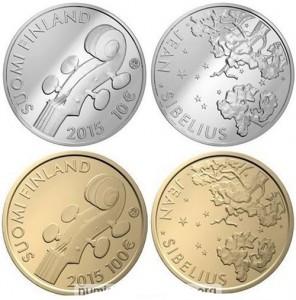 10 e 100 euro Finlandia 2015