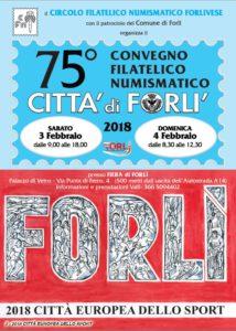 75° Convegno Filatelico Numismatico Città di Forlì