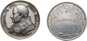 medaglia Gregorio XVI