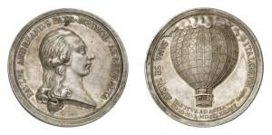 Lotto 567 - Medaglia d'argento (g 29,01) del 1784