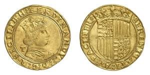 Lotto 581 - Napoli, Ferdinando I, doppio ducato (g 6,84)