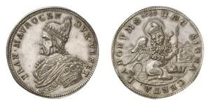 Lotto 775  - Venezia, Francesco Morosini (1688-1694), medaglia d'argento 1688