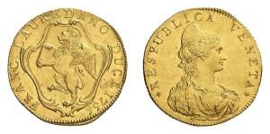 Lotto 792 - Venezia, Francesco Loredan (1752-1762), mezzo tallero per il levante 175