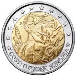 Euro commemorativo Italia 2005