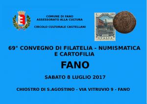 69° Convegno di Filatelia, Numismatica e Cartofilia