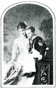 Margherita col figlio Vittorio Emanuele