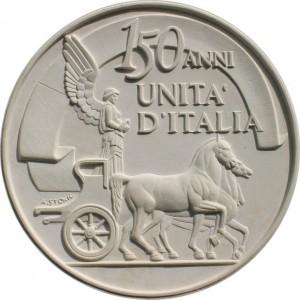 medaglia 150 anni italia