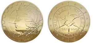 medaglia 150 italia