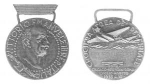 medaglia 1933 crociera aerea del decennale
