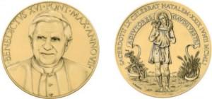 Medaglia Benedetto XVI