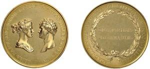 medaglia Elisa Bonaparte e Felice Baciocchi