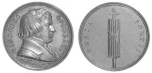 Vincenzo Gioberti, medaglia