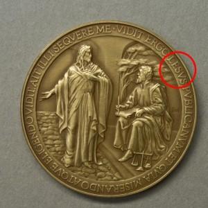 Medaglia Papa Francesco