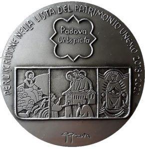 Padova Urbs picta medaglia