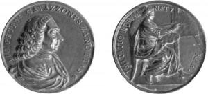 medaglia dedicata a Giovanni Pietro Cavazzoni Zanotti