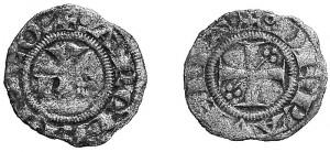 Mezzo Denaro zecca di Ravenna