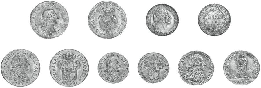 monete piemontesi