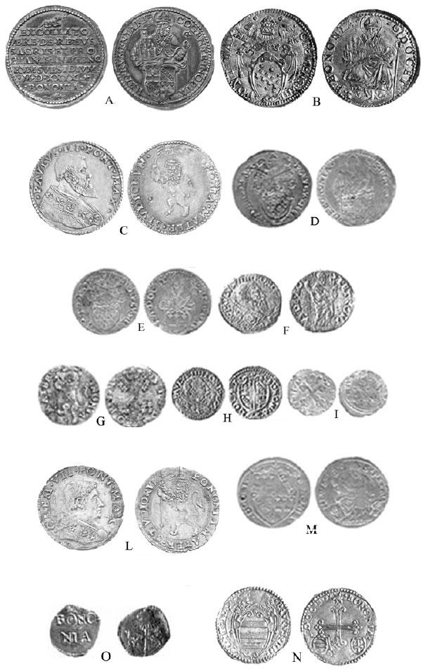 monete zecca di Bologna