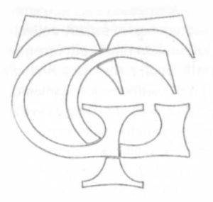 monogramma di Giovanni Trajano Gatta