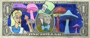 One Dollar - Alice in Wonderland