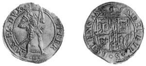 Ongaro del 1596 di Alfonso II d'Este.