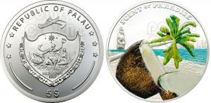 5 dollari al profumo di cocco - Palau