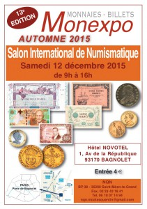 paris numismatique 2015
