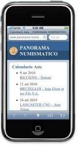 Panorama Numismatico Mobile