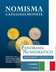 abbonamento 2020 a Panorama Numismatico