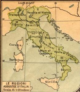 regioni augustee d'Italia