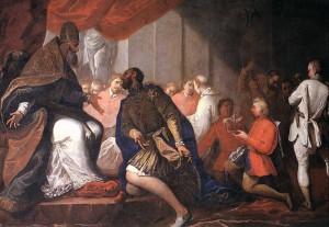 Sebastiano Ricci, Paolo III nomina il figlio Pier Luigi duca di Parma e Piacenza, Piacenza, Palazzo Farnese